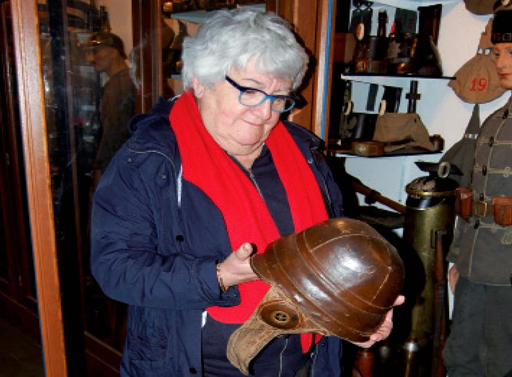 On a retrouvé le casque  de Louis Vallin !