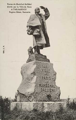 Le monument Gallieni de retour !