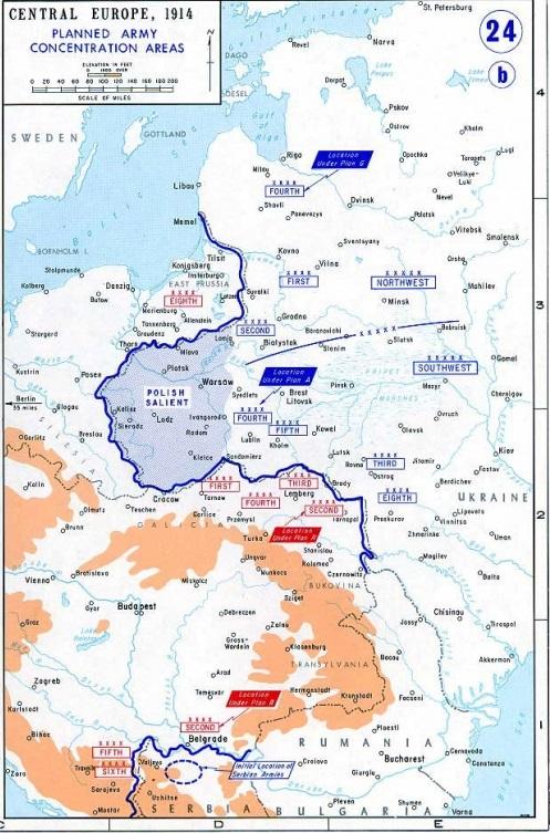 Plan de mobilisation à l'Est