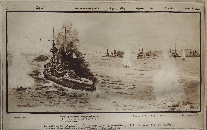 Le Bouvet (dessin publié dans l'Illustrated London News
