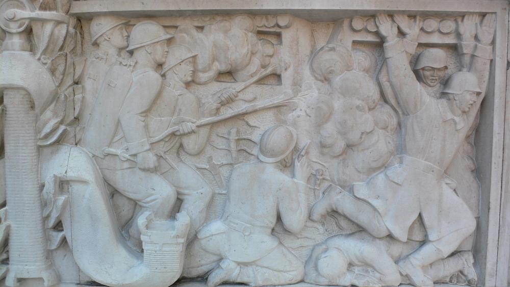 Les soldats du feu dans l'enfer de Vauquois