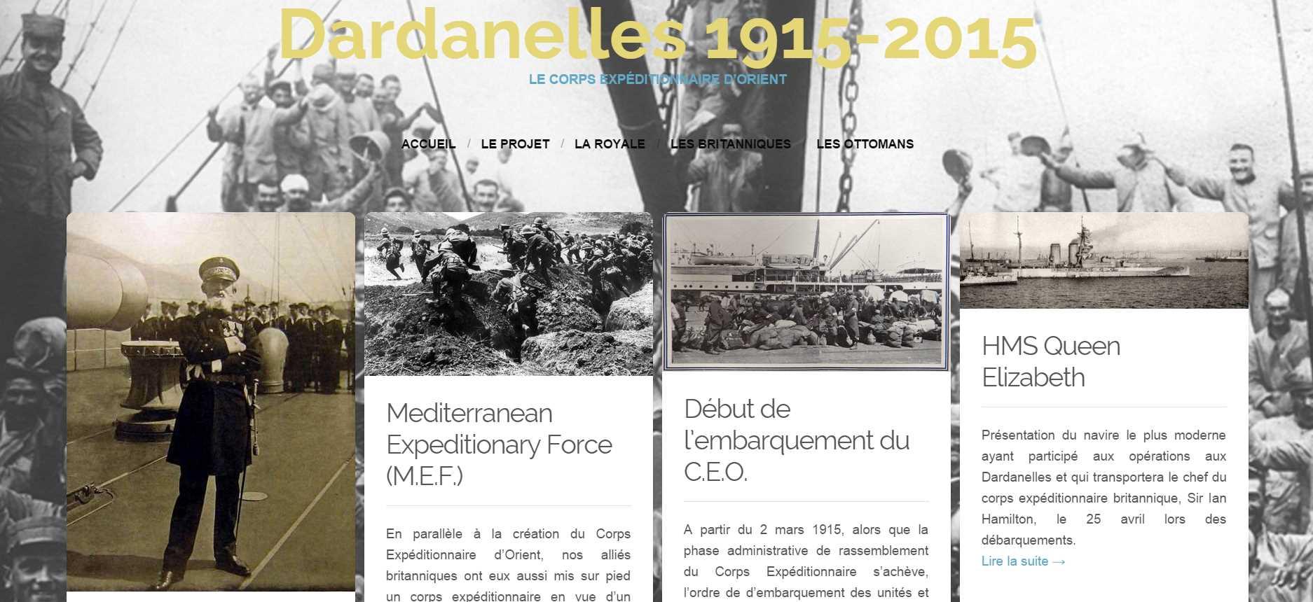 25 avril 1915 Centenaire du débarquement des Dardanelles