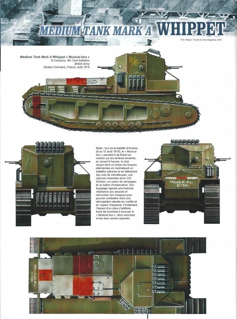 revue de presse le char rapide anglais whippet sam2g. Black Bedroom Furniture Sets. Home Design Ideas