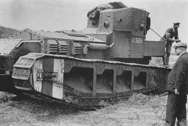 Revue de presse : le char rapide anglais «Whippet»