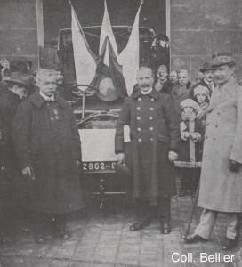 Image 12 - Etienne GERMAIN a gauche - 1922 Invalides