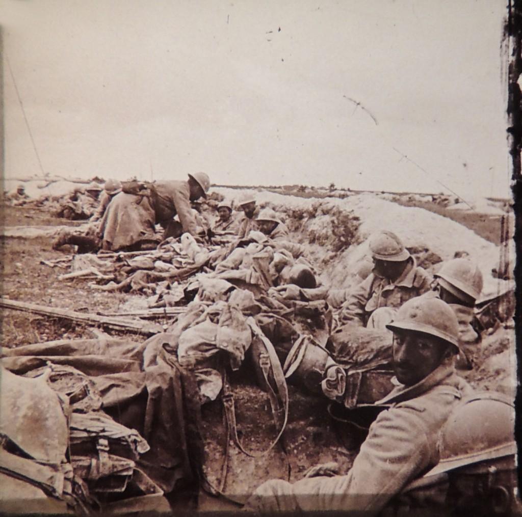 Soldats français sur la Cote 193
