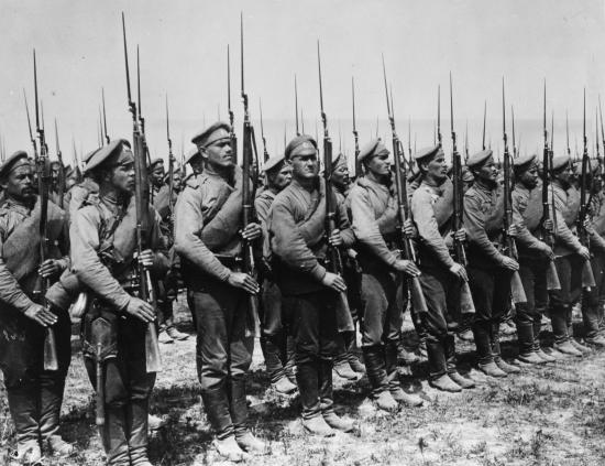 L'armée russe, 1ère partie