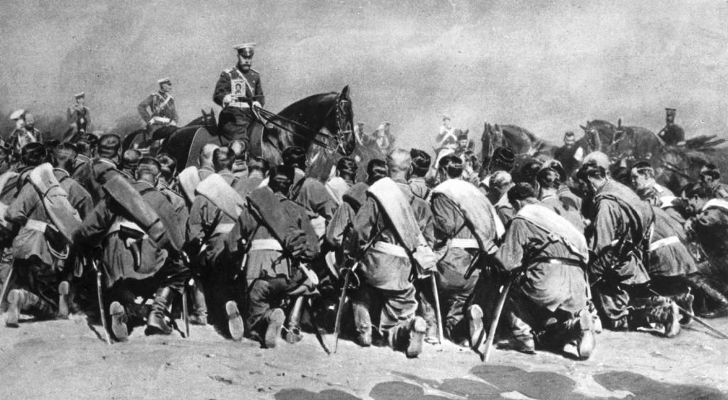 TzarNicholasAmongTroops