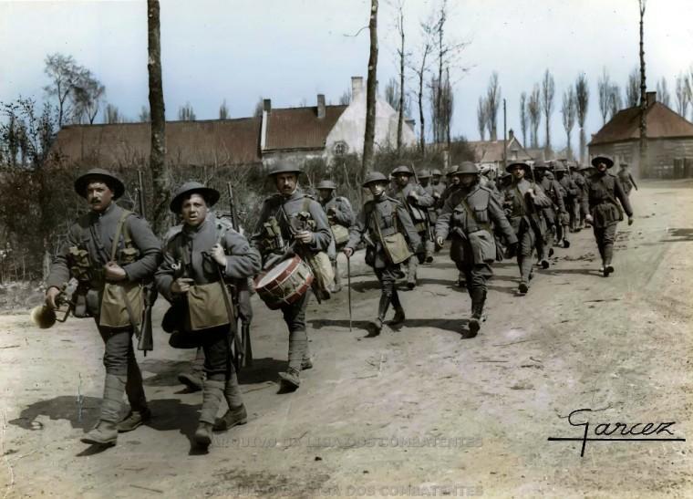 9 mars 1916, l'Allemagne déclare la guerre au Portugal
