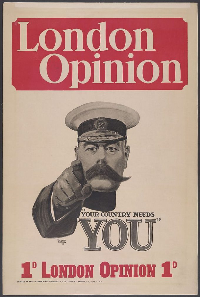 Kitchener_London_Opinion_Cover_1914_by_Alfred_Leete