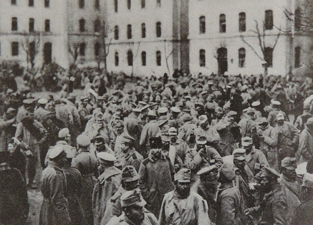 Prisonniers autrichiens Monde illustré 29 juillet 1916