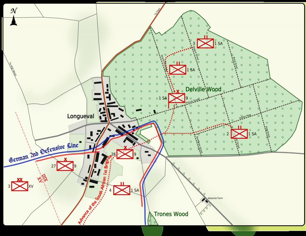 Delville_Wood_14_July_1916