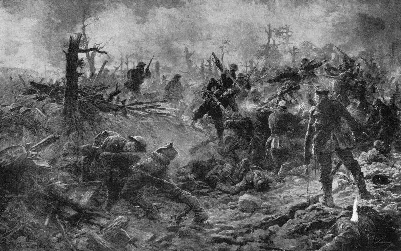 Somme, 15 juillet 1916 : les Sud-Africains attaquent le bois Delville