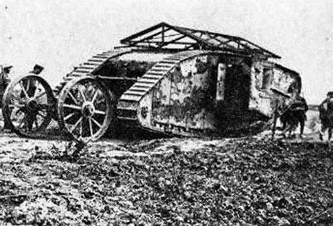 15 septembre 1916 : les Tanks attaquent ! (2ème partie)