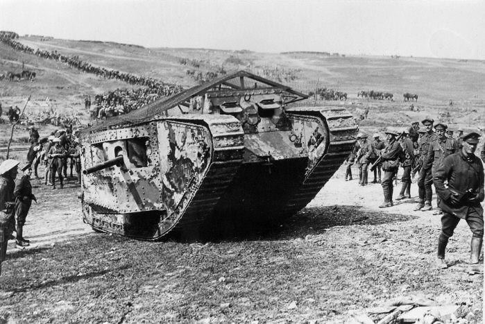 Le bilan de l'engagement des chars britanniques