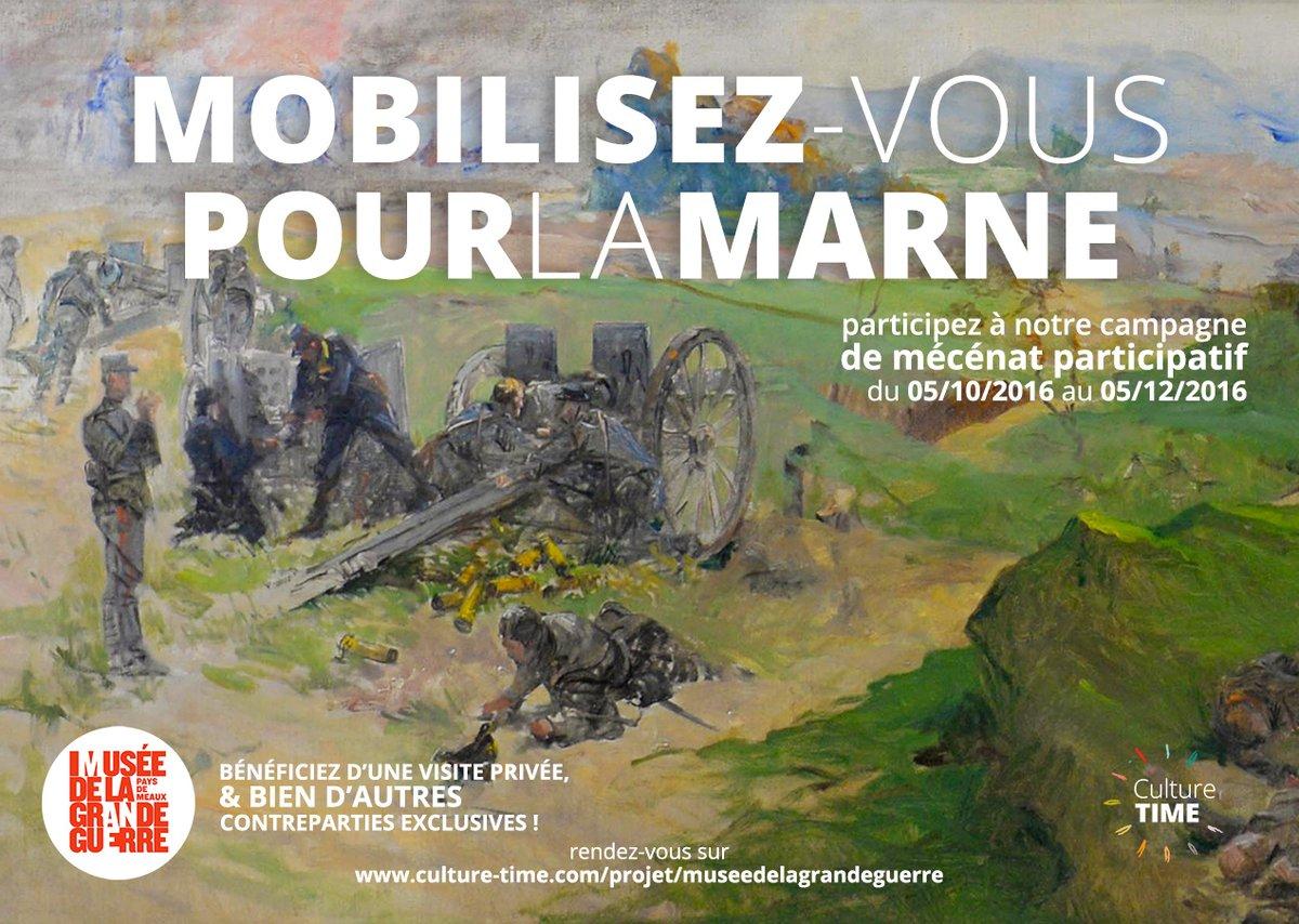 Marne 14 – Mobilisez vous pour un tableau !