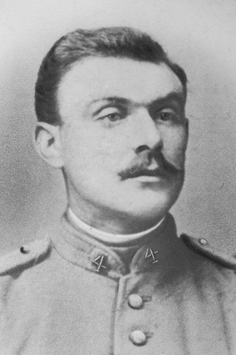 Un destin dans la guerre : Achille Moutenot (1ère partie)
