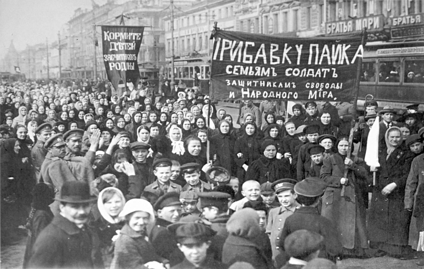 3 mars 1917, le début de la Révolution…