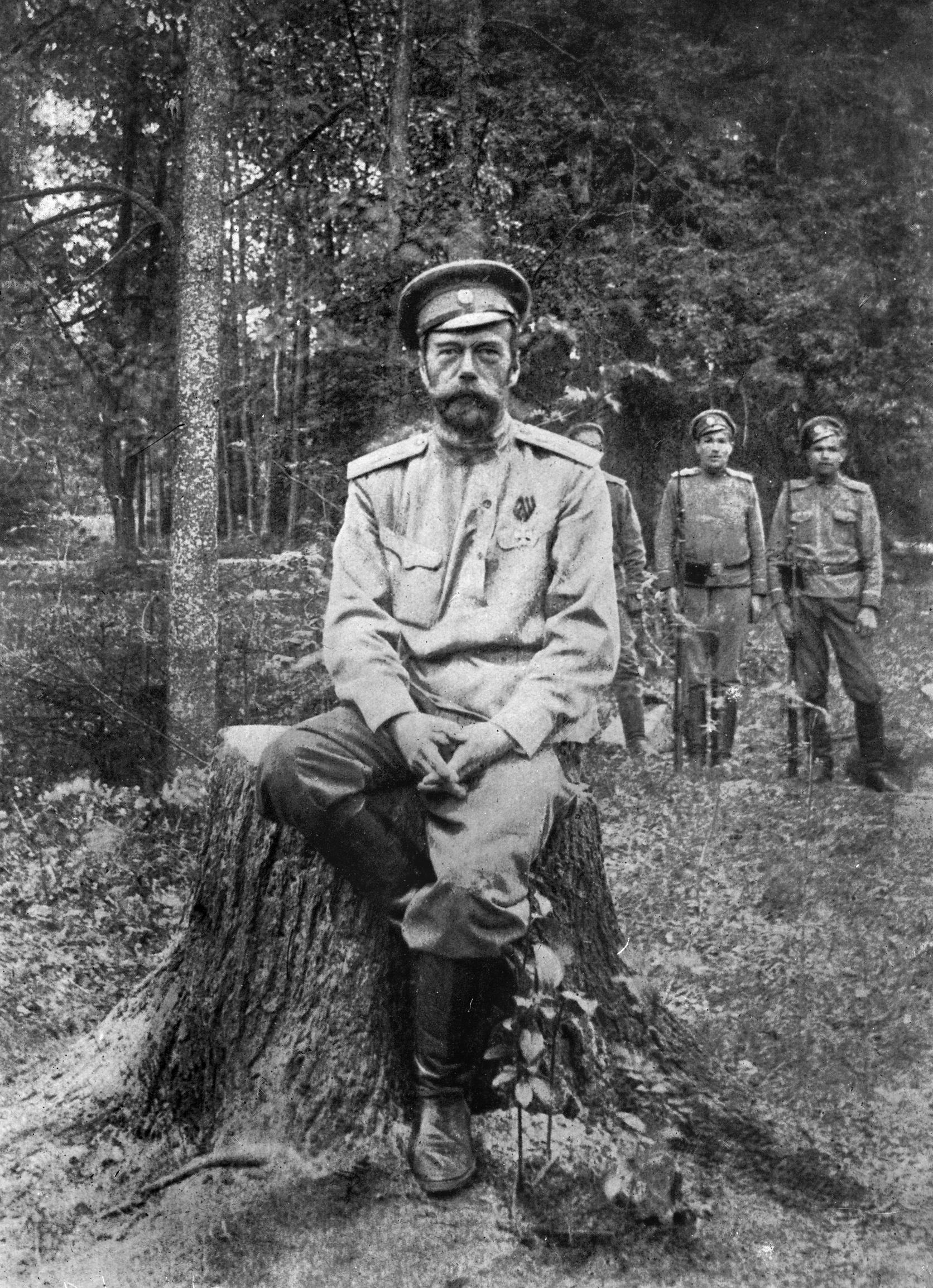 15 mars 1917 : Nicolas II abdique