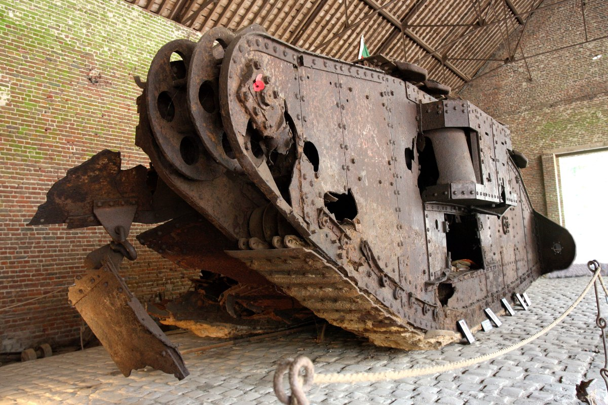 Le char Mark IV «Deborah» aura bientôt son musée
