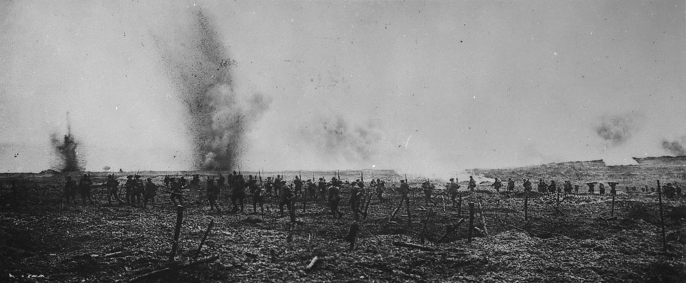 9 avril 1917 : les Canadiens attaquent à Vimy !