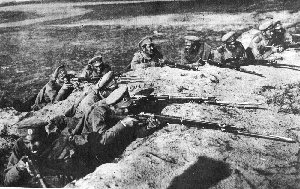 A l'Est, les Russes poursuivent le combat (suite et fin)