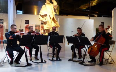 Le quintette de l'Armée de Terre au Musée