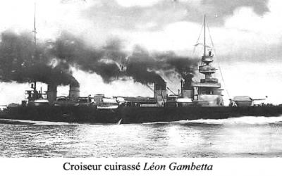 Le torpillage du Léon Gambetta, une tragédie pour notre Marine