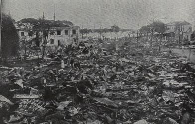 Le conflit sur les Cinq Continents : Le bombardement de Papeete par la marine Allemande