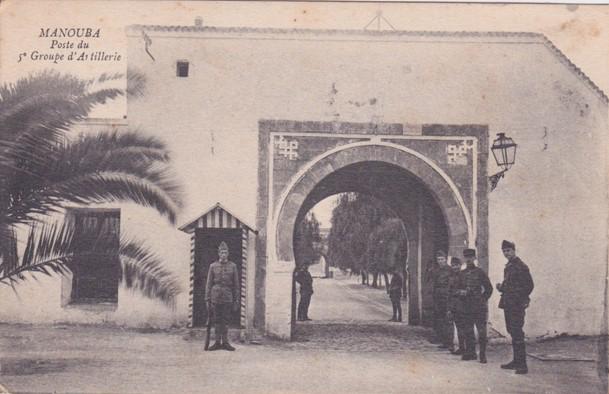 Le 5 ème Groupe d'Artillerie de Campagne d'Afrique de Tunisie engagé dans la Bataille de la Marne