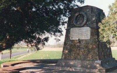 CHAMBRY: Le monument des 4 routes